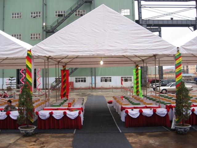 Tổ chức sự kiện Trần Gia - Nhà bạt singapore