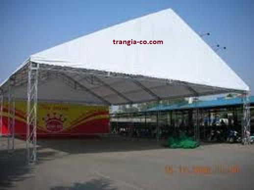 Tổ chức sự kiện Trần Gia - Nhà giàn khung inox cao cấp, sử dụng cho các sự kiện quan trọng