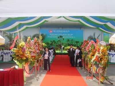 Tổ chức sự kiện Trần Gia - Cho thuê thảm đỏ, thảm xanh